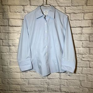 Brooks brothers 12 blue non iron button shirt 3161